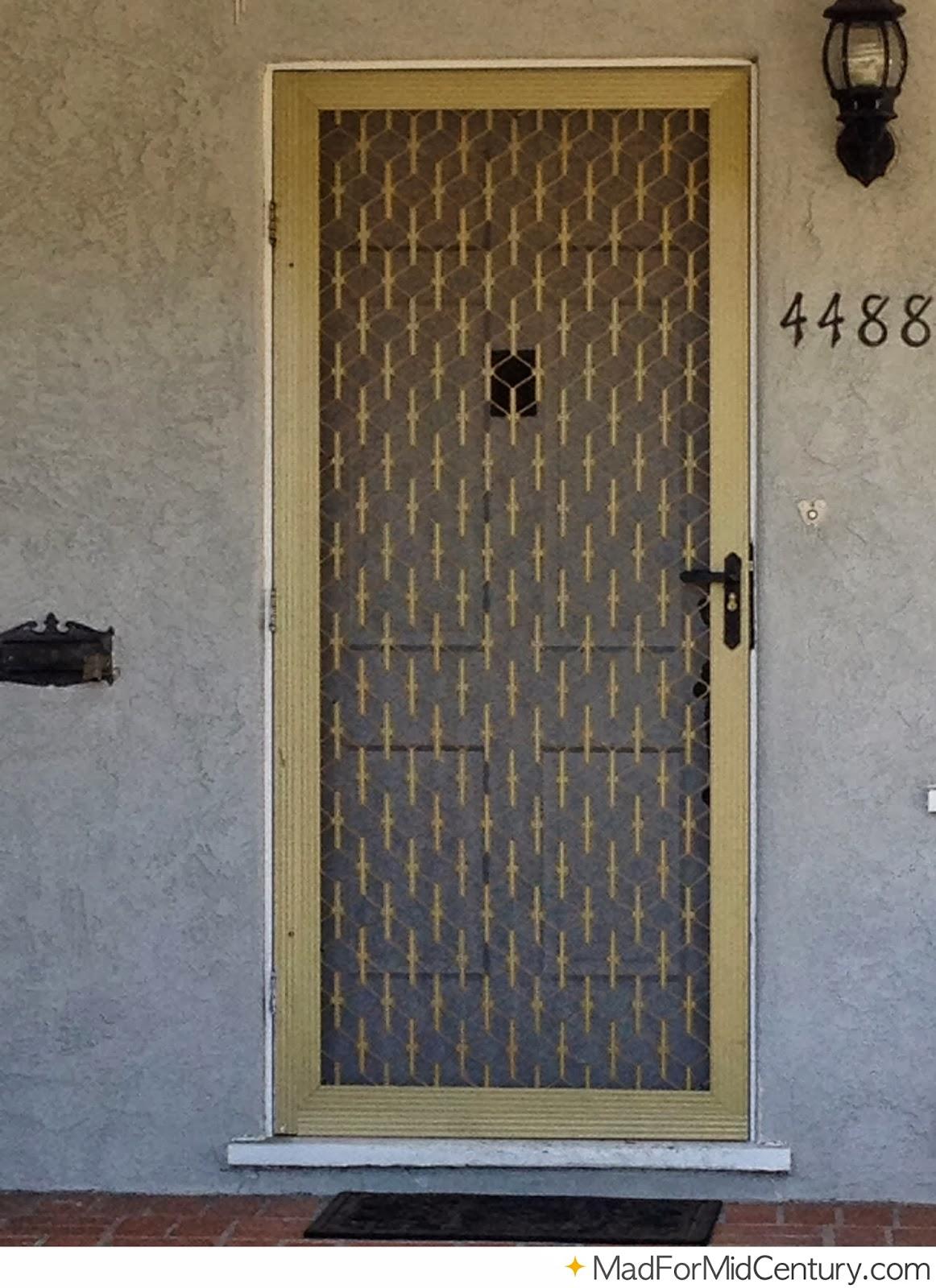 Mad for Mid-Century: Authentic Mid-Century Doors