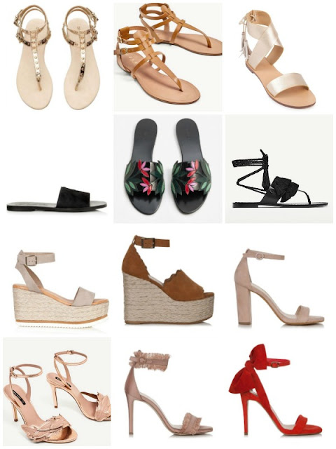 Summer Sandals under 100€ - Ioanna's Notebook