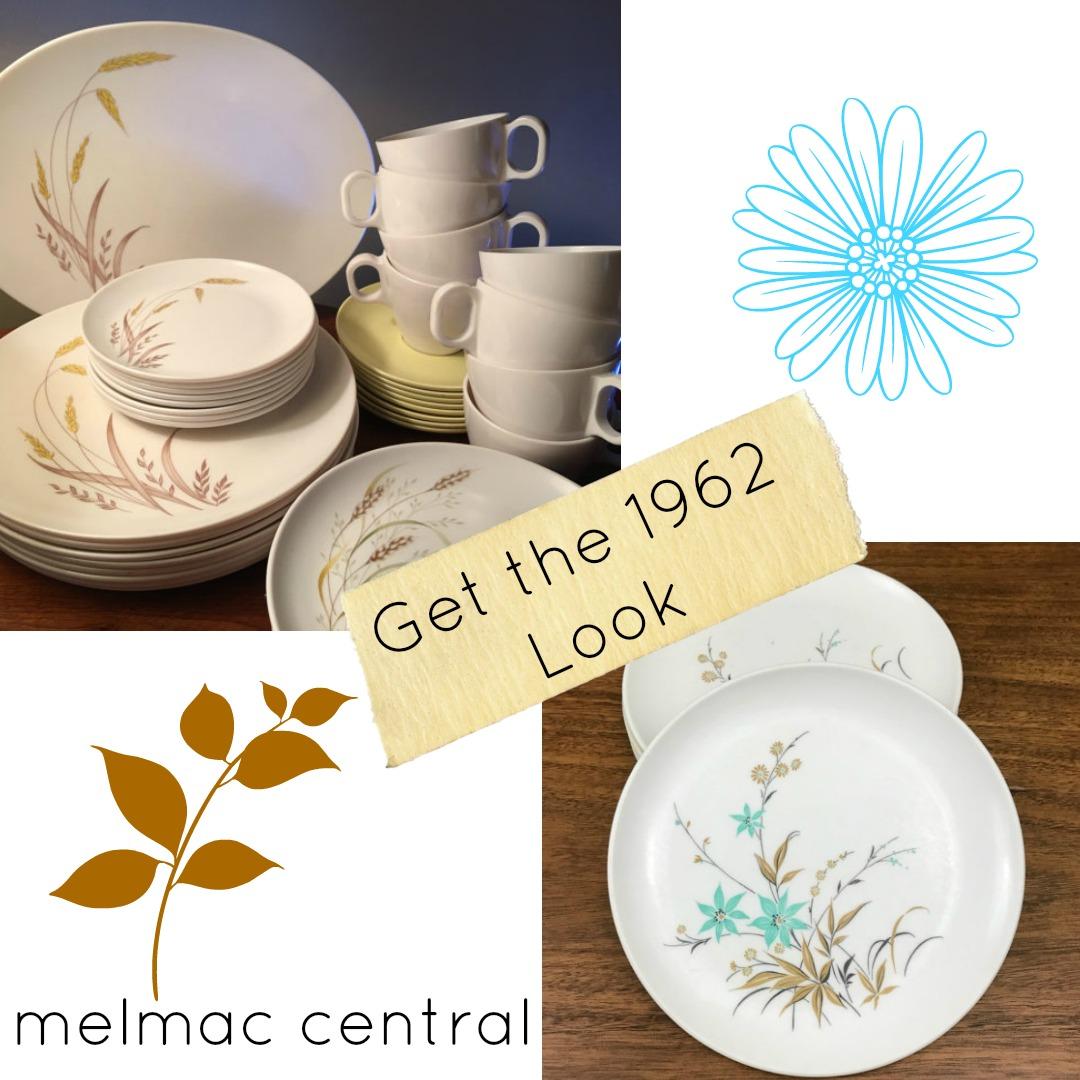 Melmac Dinnerware Vintage Plastics