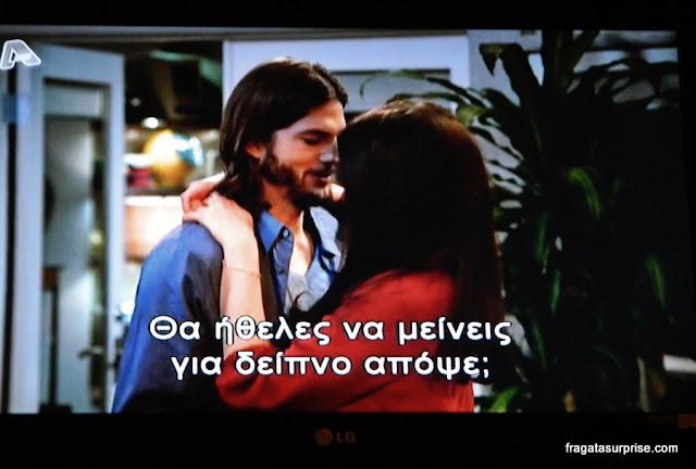 Programas de TV legendados, na Grécia