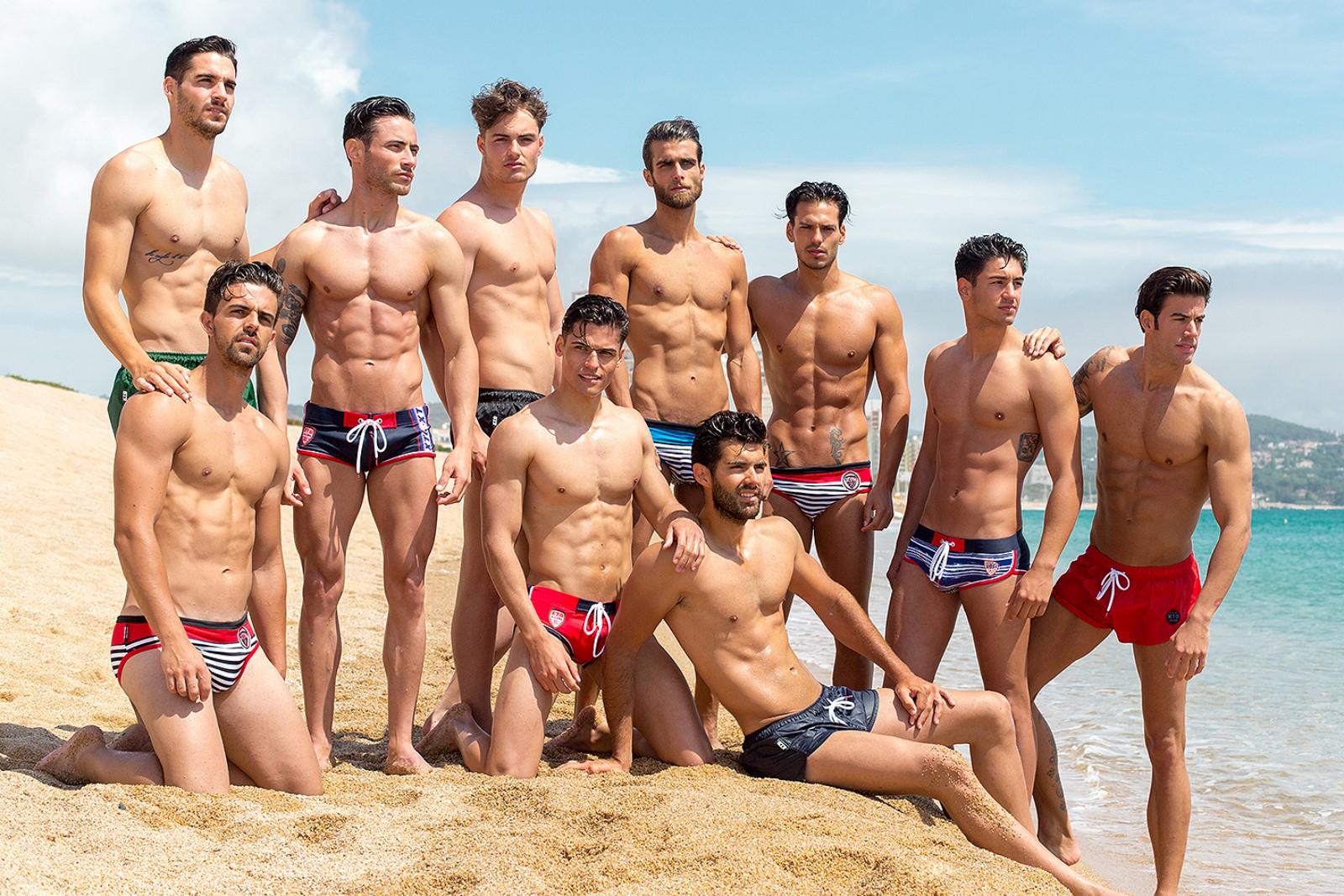 men-offer-group-beach