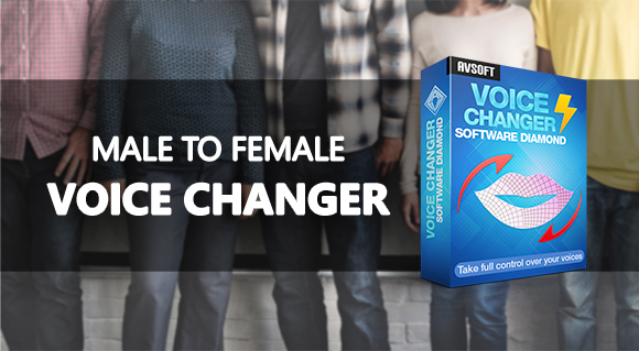 Male to female voice changer software