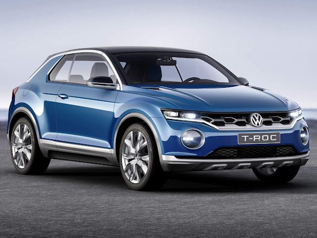 VW T-ROC: SUV do Golf tem início de vendas no mês de agosto - Europa