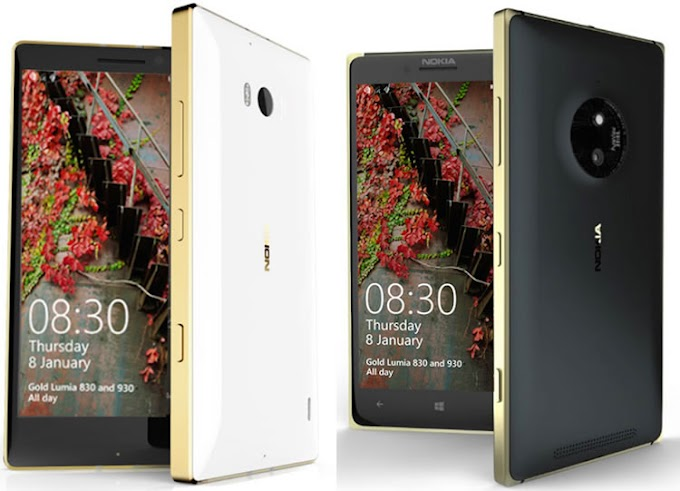 """Microsoft's """"golden launches from my copy of the Lumia 830 and 930"""