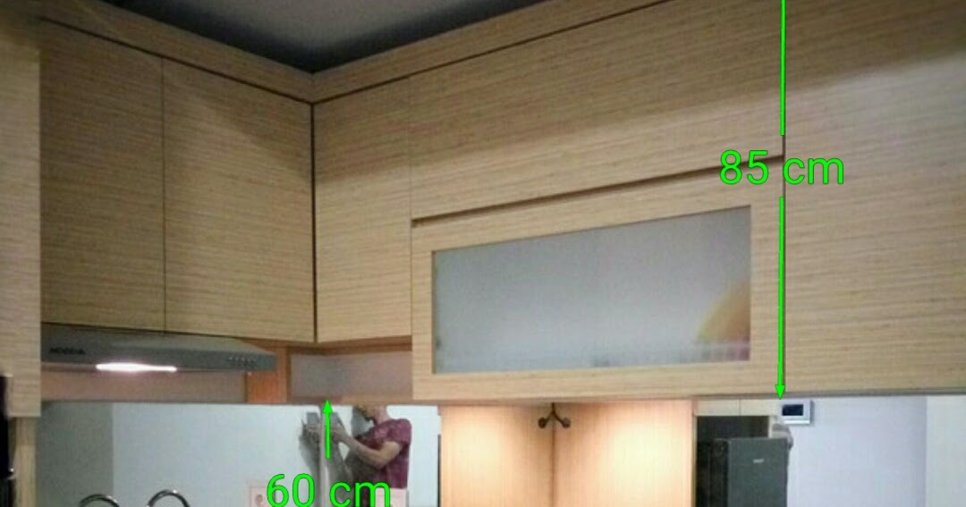 Ukuran kitchen set furniture kitchen set minimalis for Kitchen set murah jakarta