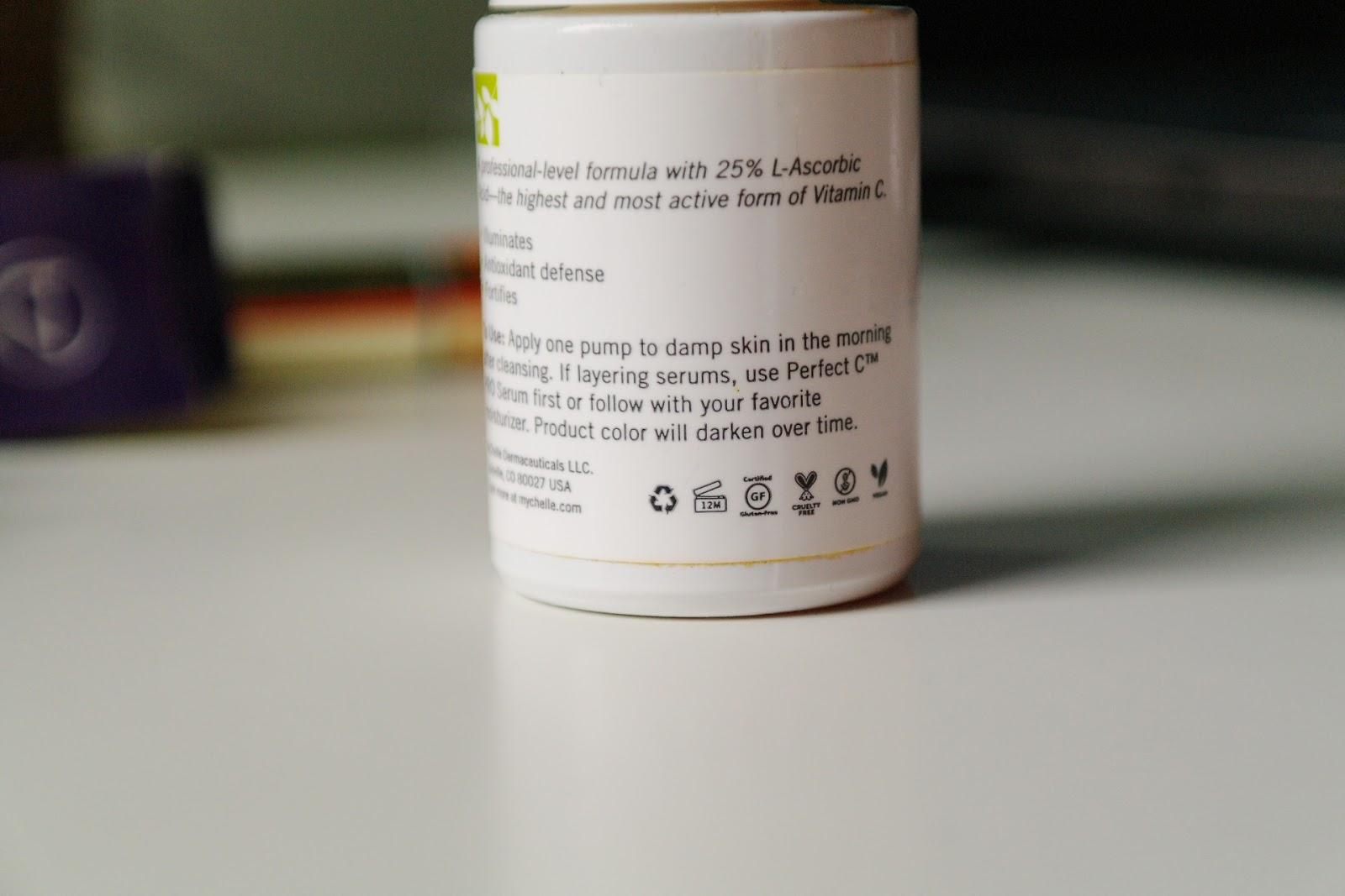 fluores: Mychelle Perfect C PRO Serum 25% REVIEW