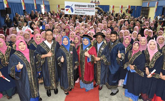 empower ECER Tingkatkan Taraf Hidup 400 Keluarga B40 Di Maran, Pahang,