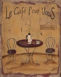 """Francuskie piosenki #17 - """"Le café"""" - nagłówek - Francuski przy kawie"""