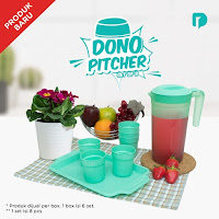 Dusdusan Technoplast Dono Pitcher Set of 8 ANDHIMIND