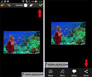 Tutorial Mengedit Foto Di Dalam Laut Atau Air Pada Android