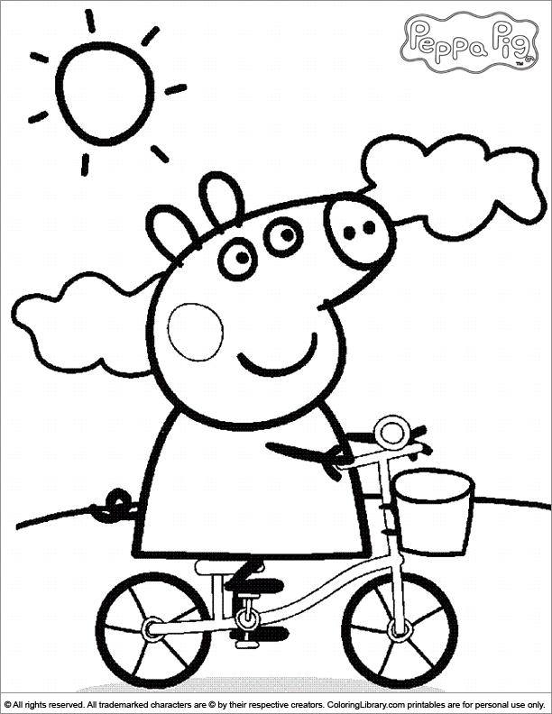 Peppa Pig Dibujos Para Colorear Pop Guernica