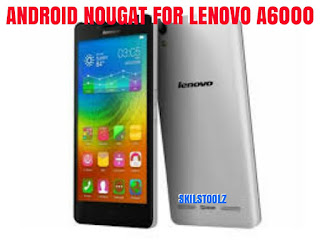 Lineage os Lenovo A6000