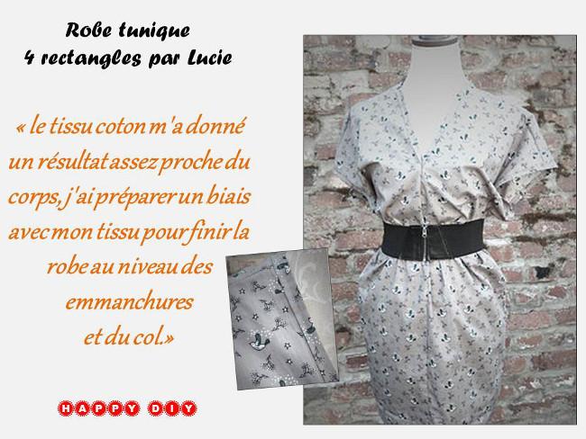 Sehr Couture Facile pour Débutants - Robe Cousu Main Bettinael.Passion  FN27