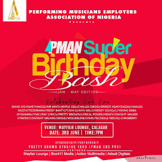PMAN Cross River State To Celebrate Super Birthday Bash For Its Members (READ)
