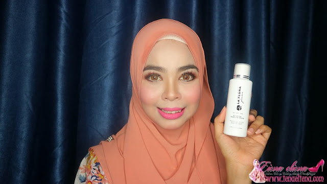 LA' FLORA PURIFYING MAKE UP REMOVER