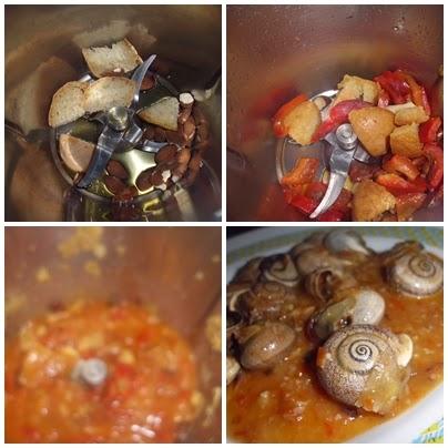 recetas de caracoles en thermomix