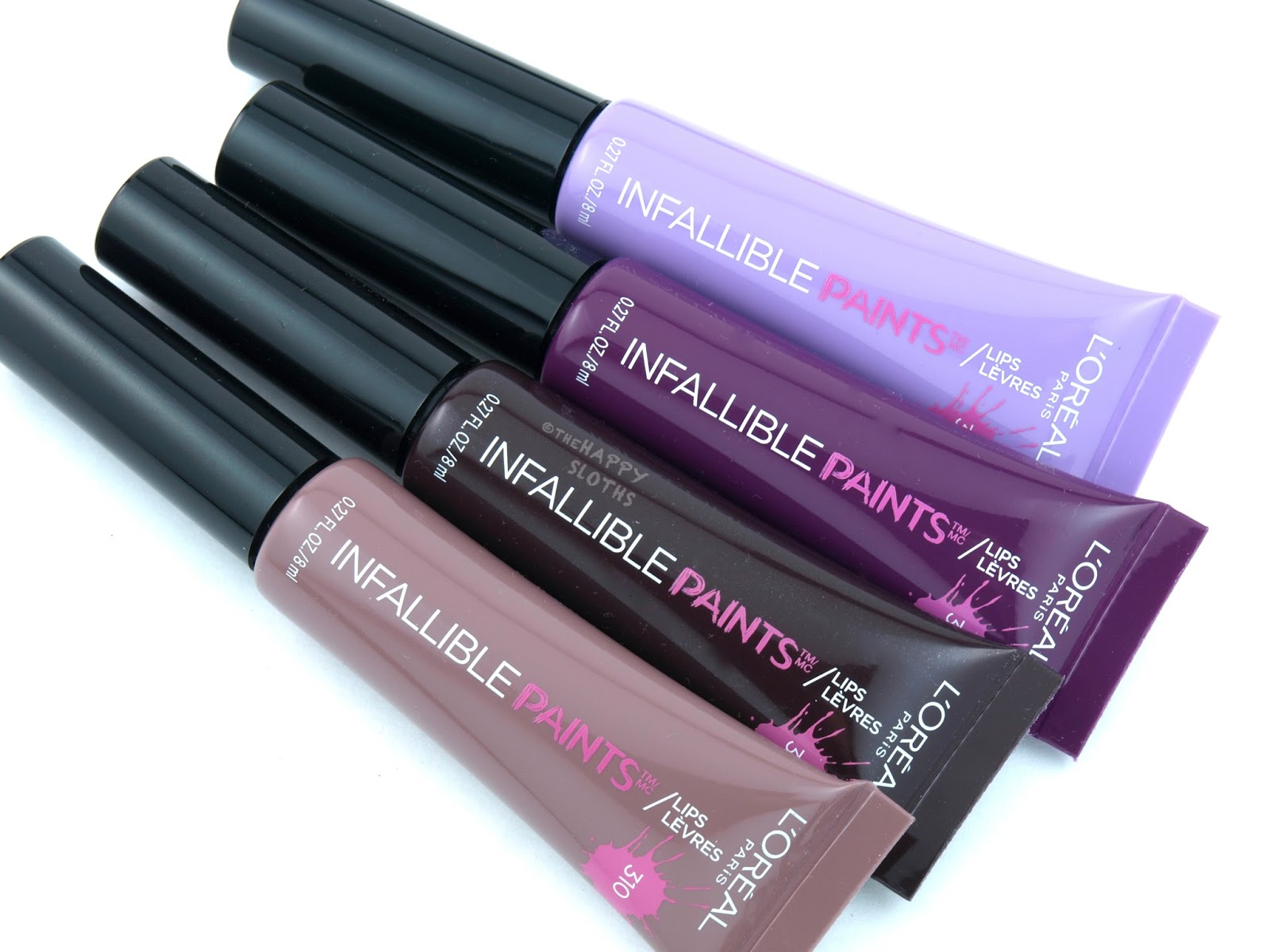 L'Oreal Infallible Lip Paints: Review and Swatches