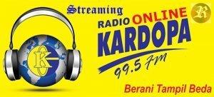 Streaming radio Kardopa 99.5 FM Medan Sumatera utara