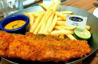 Harga Menu Fish n Co Jakarta, Harga Menu di Fish n Co, Daftar Harga Menu Fish & Co, Fish and Co,
