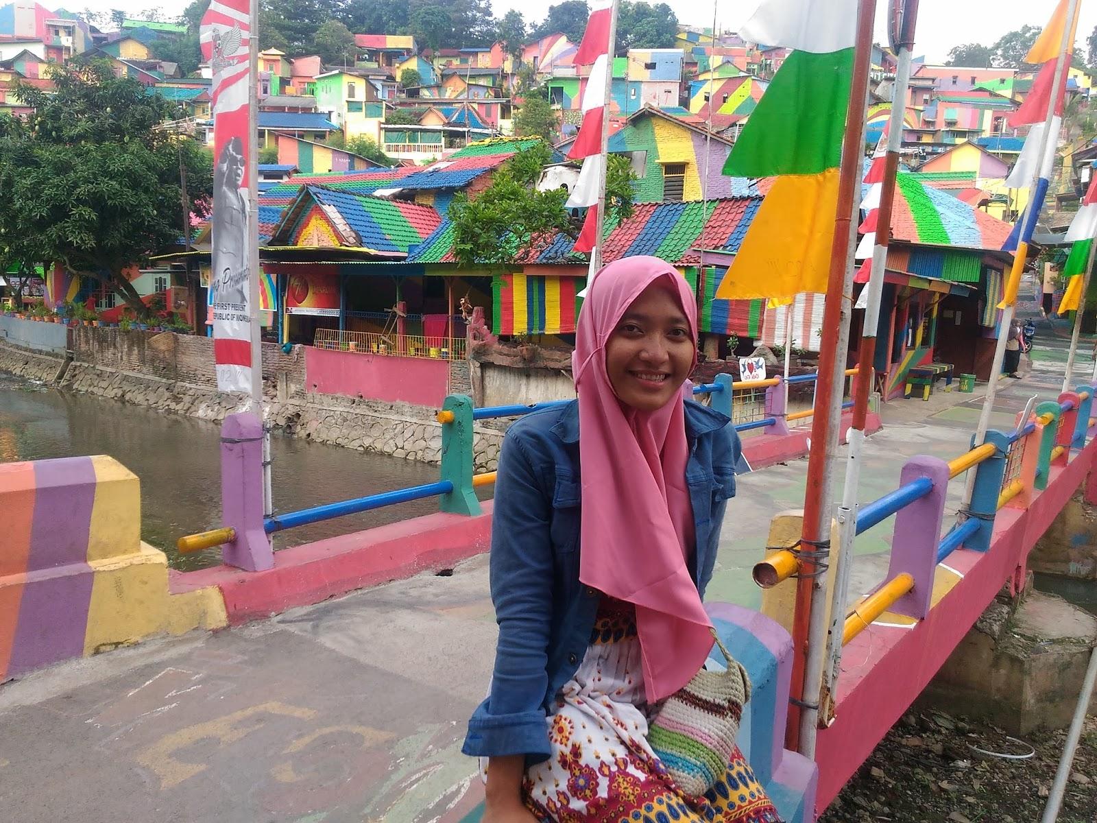 Rizky Amalia Kampung Pelangi Wonosari Wisata Hits Di Semarang