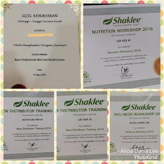 Sijil shaklee; Akademik Shaklee Malaysia; Shaklee labuan; Labuan shaklee; mencari agen shaklee; mencari stokist shaklee labuan