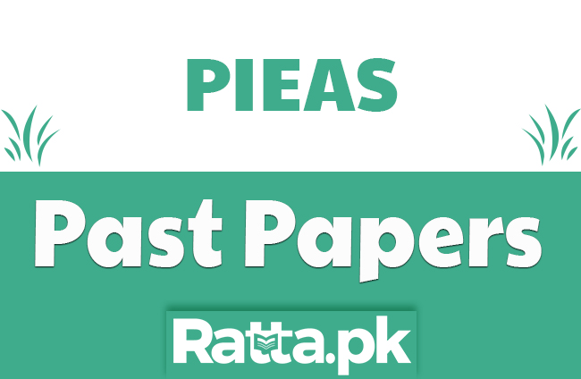 PIEAS Past Paper 2013 pdf