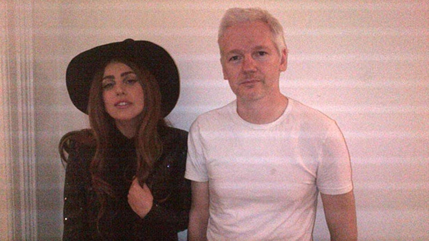 Julian Assange Interviewed by Lady Gaga