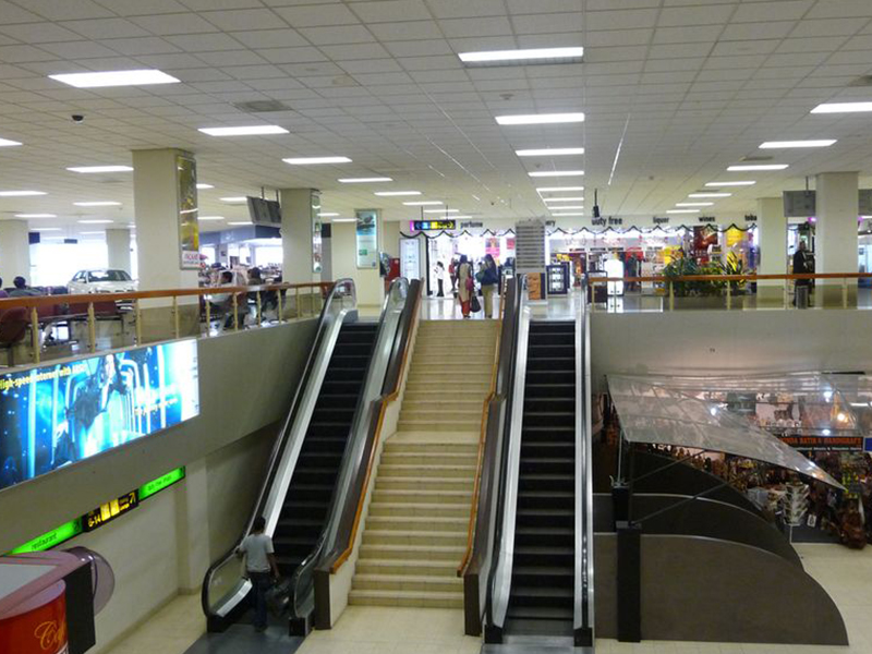 Changes in Katunayake airport
