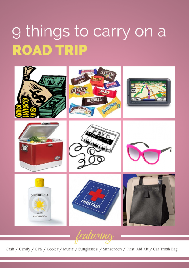 9 Things You Must Carry On A Road Trip | Tanvii.com ...