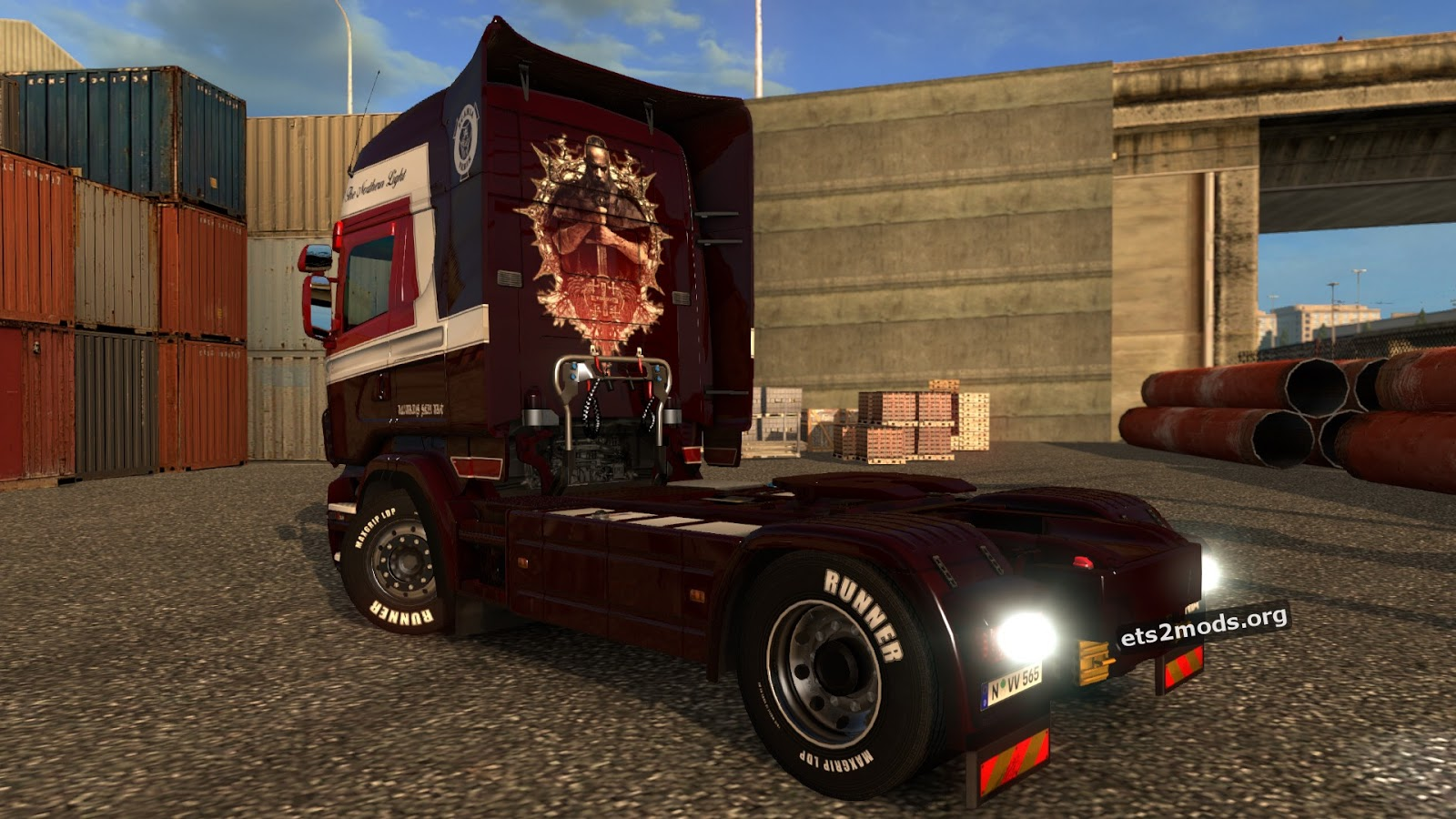 Scania RJL Northern Skin
