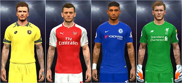 New Tattoo Pack 600 Final PES 2017