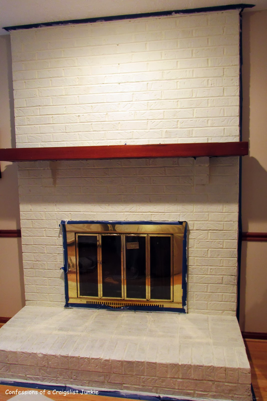 confessions of a craigslist junkie: Painting Brick With ...