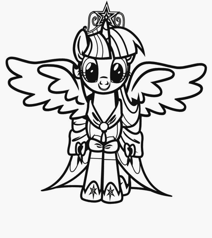 Coloring Pages: My Little Pony Coloring Pages Free and