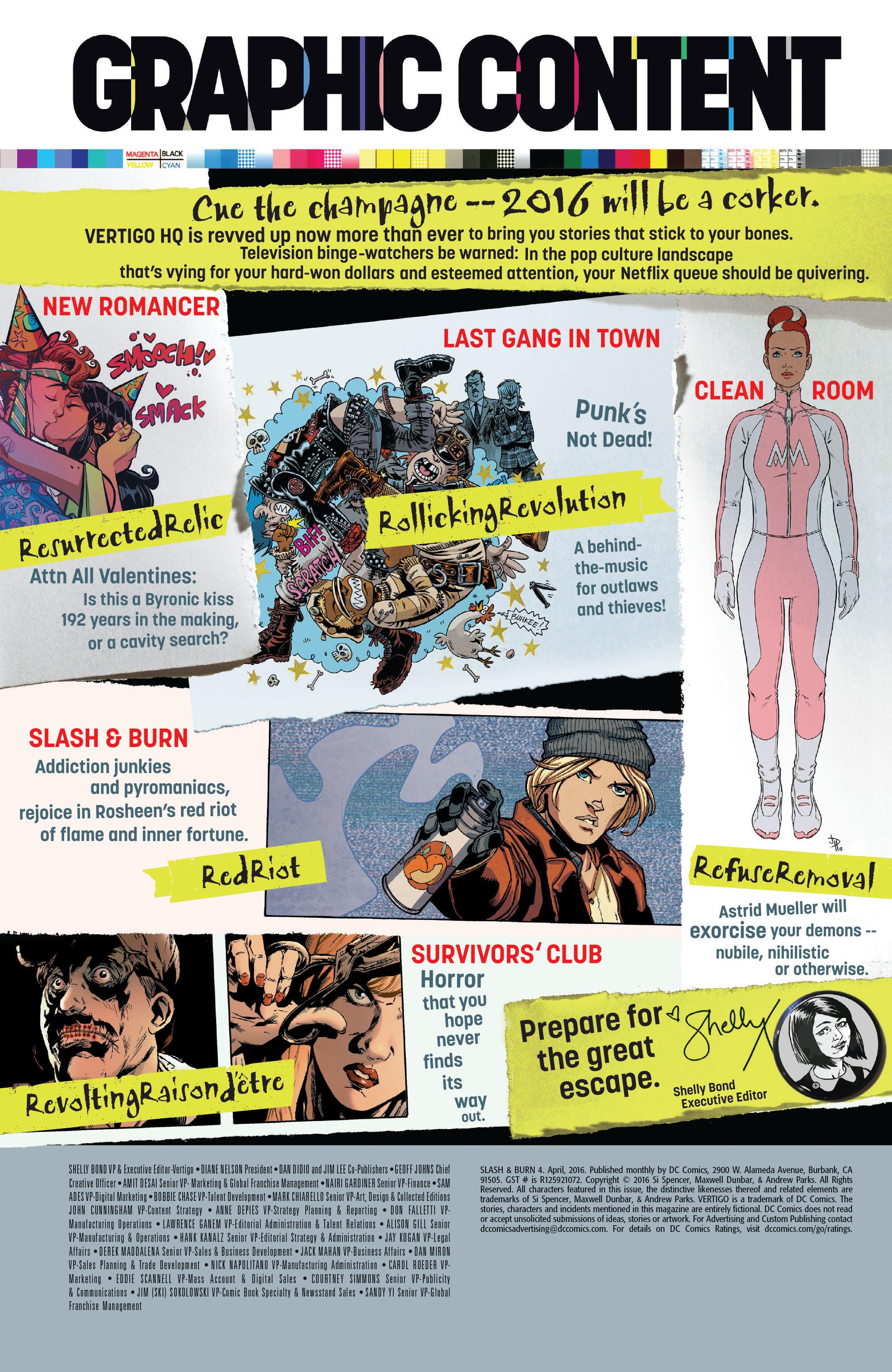 Read online Slash & Burn comic -  Issue #4 - 25