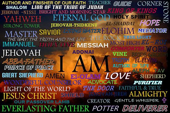 progressive prophetess: The Names of God