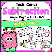 Monster Subtraction using Single Digits