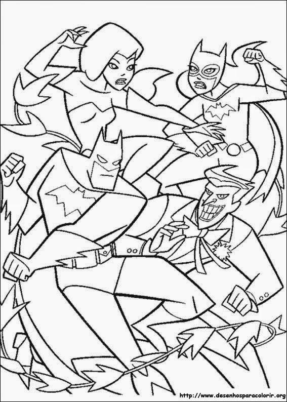 Desenhos Para Colorir Do Batman
