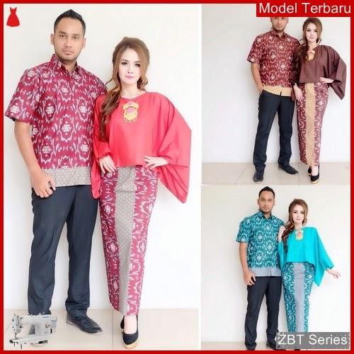 ZBT11109 Kebaya Batik Couple Aliera Batwing Terkini BMGShop