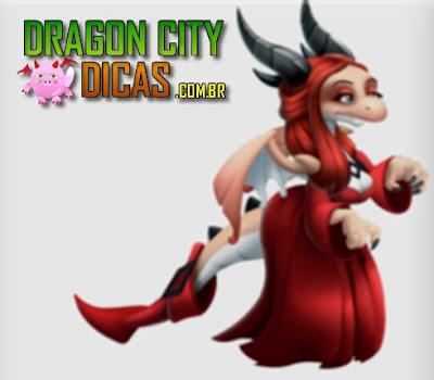 Dragão Bruxa Vermelha