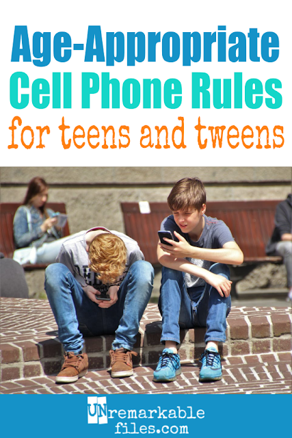 When it was the right time to get our kid a cell phone, I read a TON of cell phone contracts on the Internet. I knew we needed clear, age-appropriate rules before giving her a smartphone. Here is our master list of cell phone rules for teens and tweens! #teens #tweens
