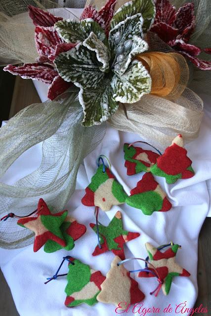 Galletas Navidad de colores