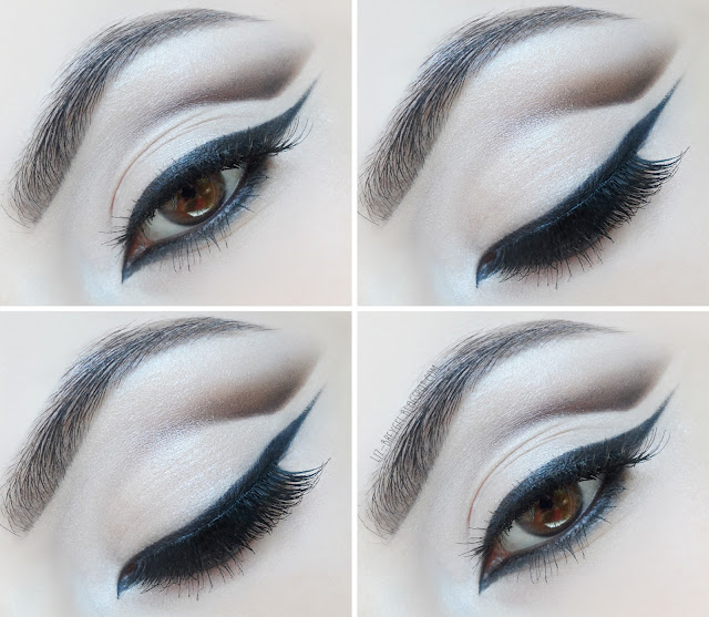 beautiful easy makeup tutorial for everyday step by step liz breygel  bridal wedding cut crease eyeliner wing