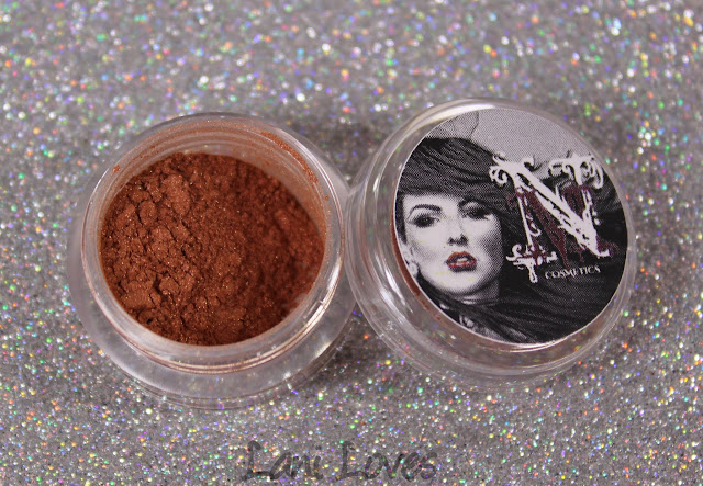 Notoriously Morbid Eyeshadow - Maple Bacon Bronze Swatches & Review