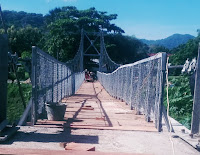 Diaddendum, Pekerjaan Proyek Jembatan Gantung Paruga Tinggal Finishing Saja