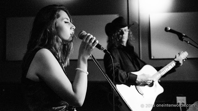 Vivien Shepherd and Johnny Devil at The Tennessee on September 1, 2016 Photo by John at One In Ten Words oneintenwords.com toronto indie alternative live music blog concert photography pictures