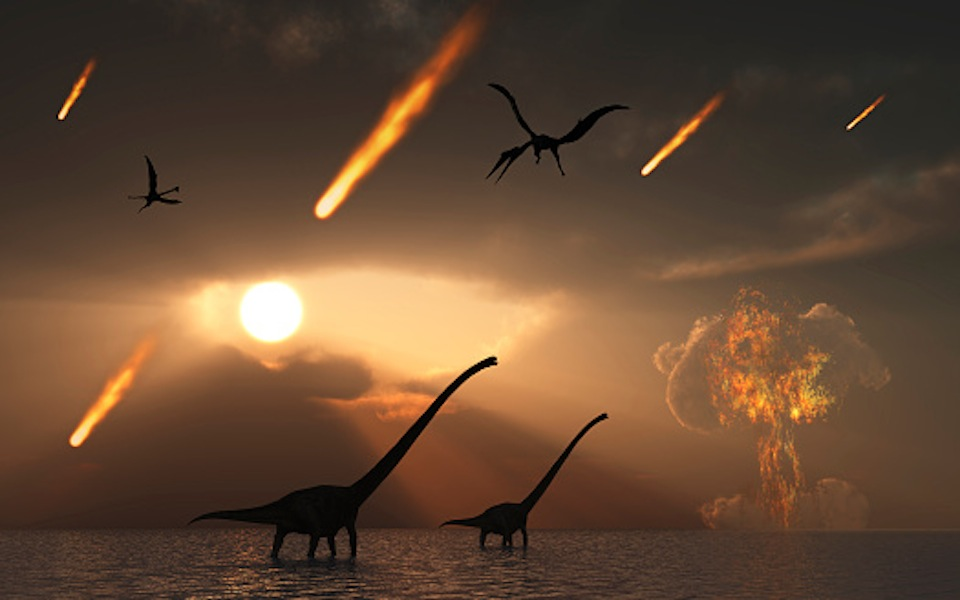 how big was dinosaur asteroid - photo #25