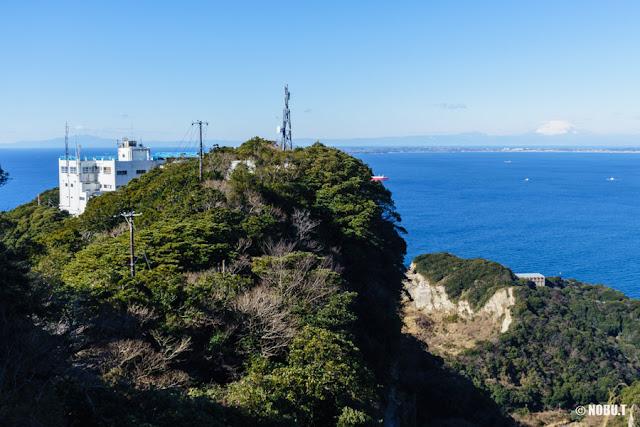 千葉県・鋸山の十州一覧台からの景色