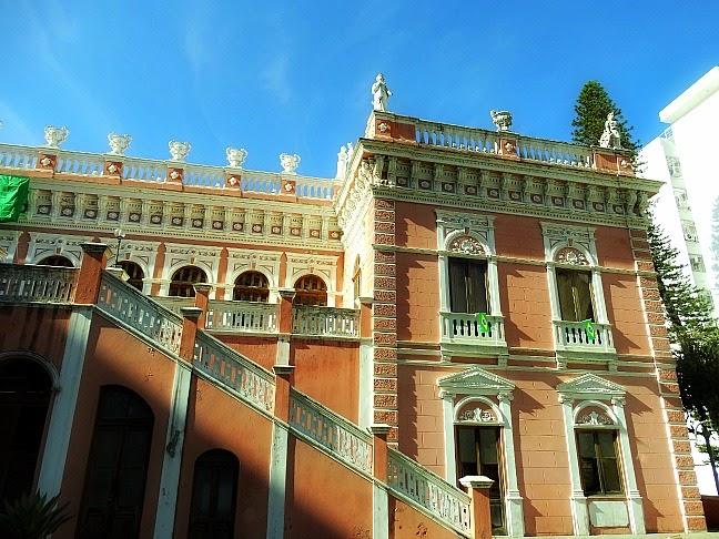 Palácio Rosado, em Florianópolis: abriga o Museu Cruz e Souza