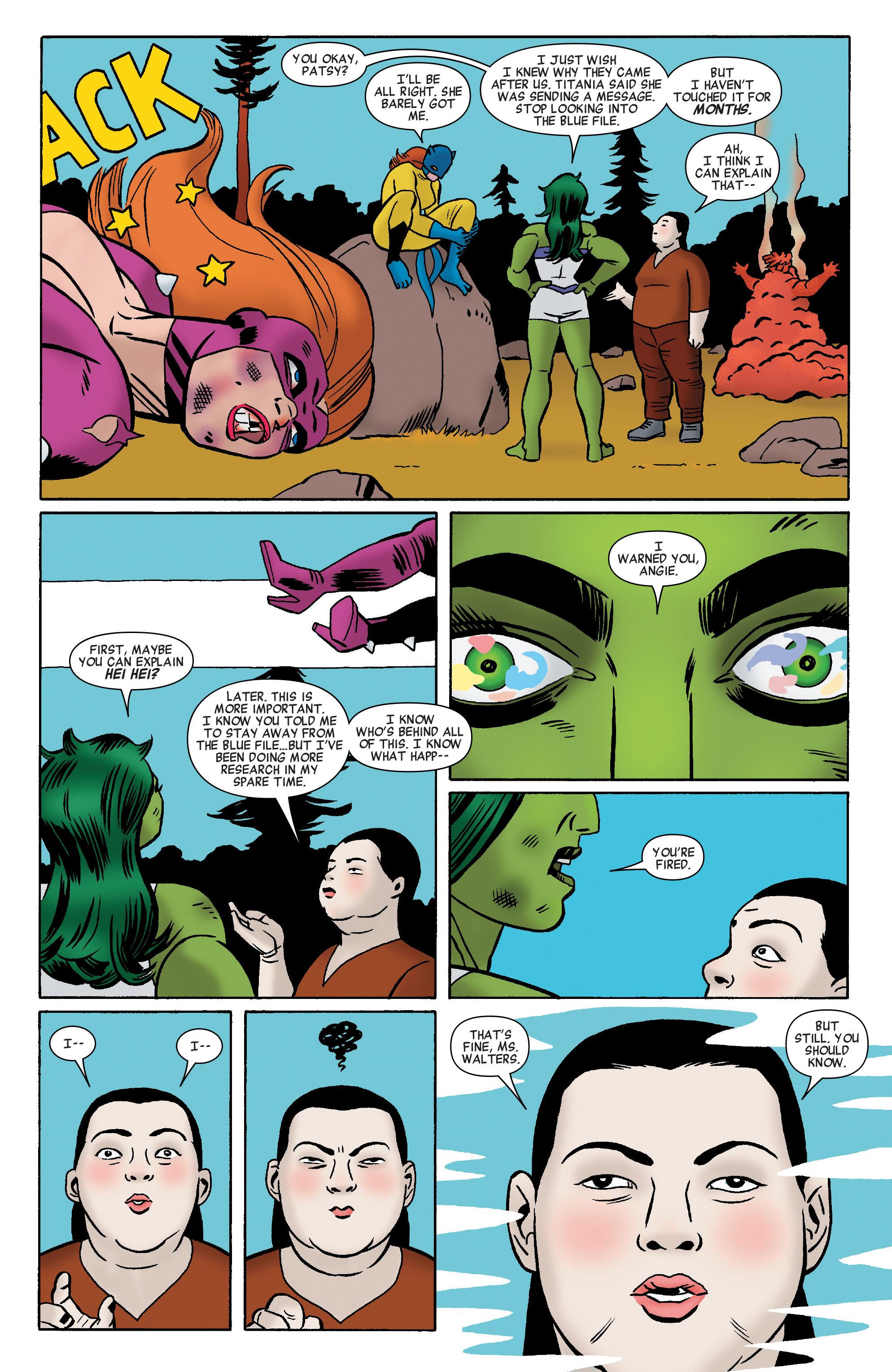 Read online She-Hulk (2014) comic -  Issue #11 - 13