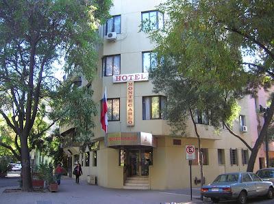 Hotel Montecarlo Santiago de Chile, Santiago de Chile, Chile, vuelta al mundo, round the world, La vuelta al mundo de Asun y Ricardo